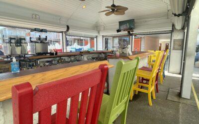 Re-Opening of KIX Patio Outside Bar!